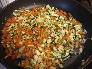 cous cous con verdure - ricetta