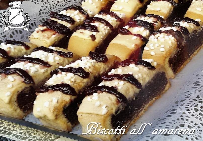 Gran Consiglio della forchetta - Biscotti all'amarena