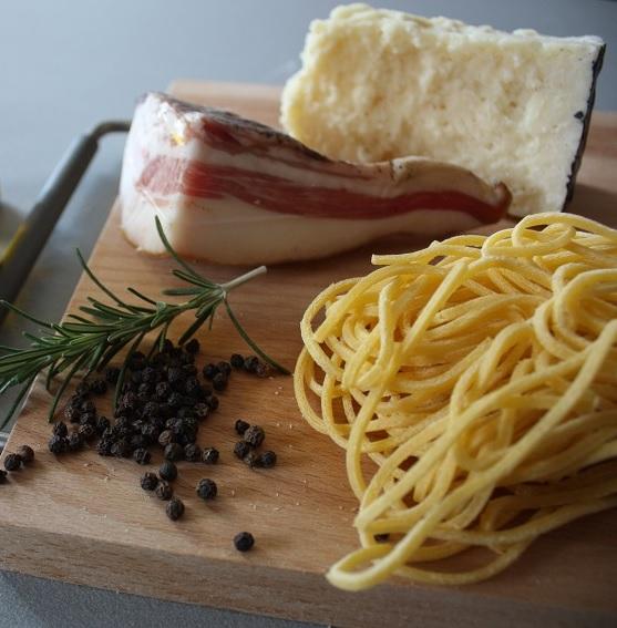 Spaghetti alla gricia ingredienti