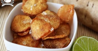 Patate dolci croccanti con lime e paprika