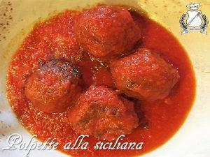 Polpette alla siciliana