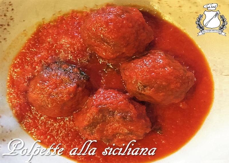 Polpette alla siciliana - ricetta