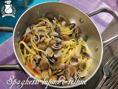 Spaghetti lupini e telline