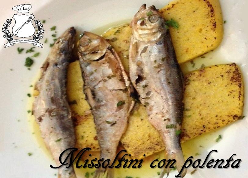 Missoltini con Polenta