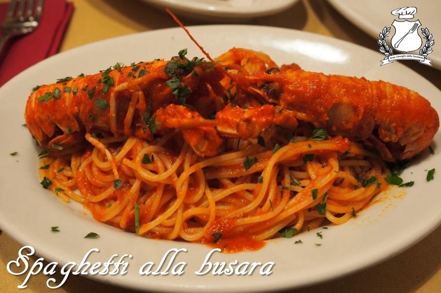 Spaghetti alla Busara - ricetta
