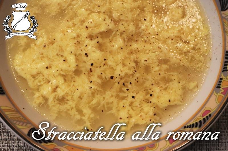 Stracciatella alla romana gran consiglio della forchetta for Cucina tipica romana ricette