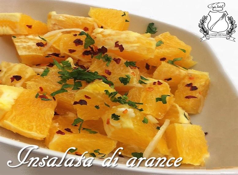 Insalata di arance - ricetta
