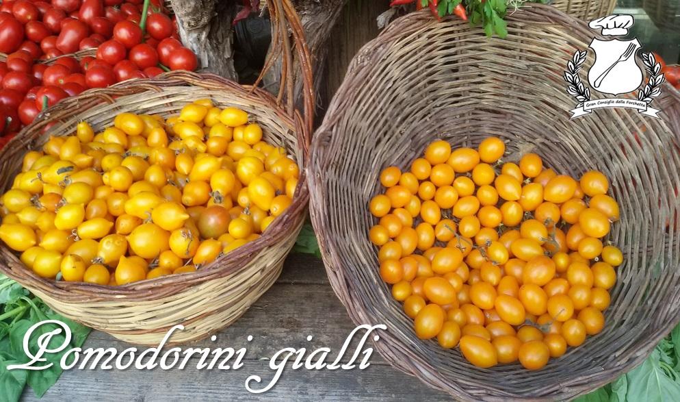 Pomodorino del Piennolo del Vesuvio - Pomodorini Gialli