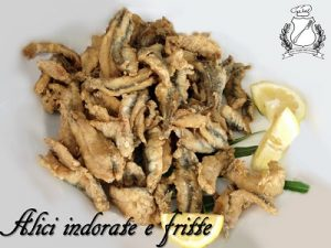 alici indorate e fritte