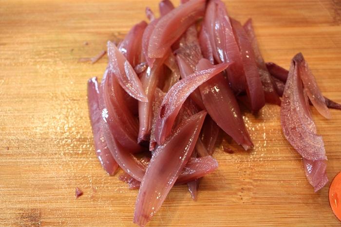 bruschette con cipolle rosse di tropea