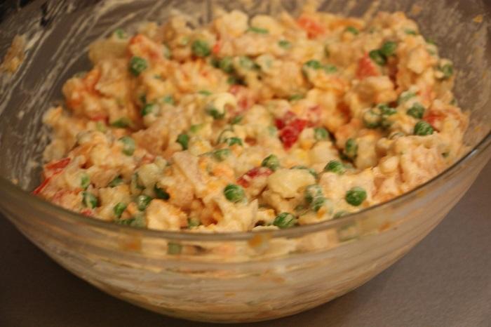 insalata russa 04 - maionese con verdure e sottaceti