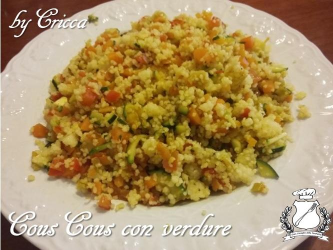 Gran Consiglio della Forchetta - by cricca - Cous Cous con verdure