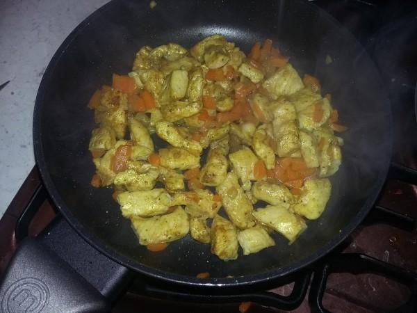 Pollo al curry - ricetta