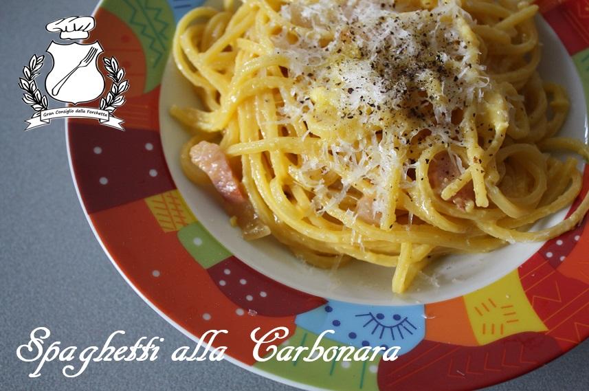 Gran Consiglio della Forchetta - Spaghetti alla carbonara