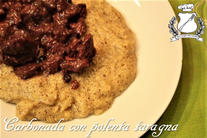 carbonada con polenta