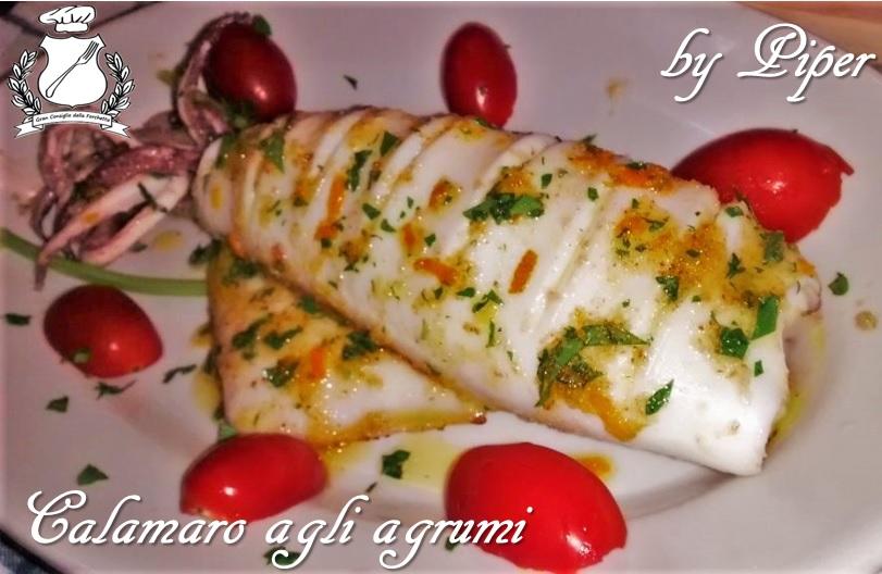 Calamaro agli agrumi - by Piper