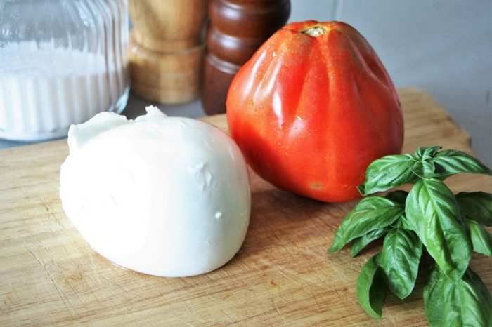 caprese ingredienti