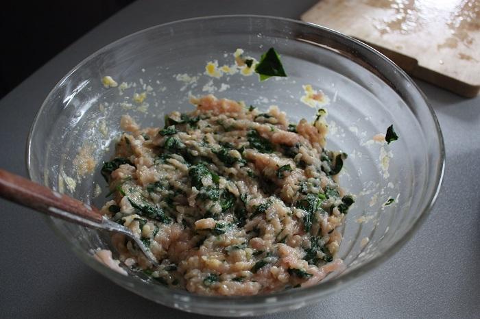 Gran Consiglio della Forchetta - polpette pollo e spinaci 05