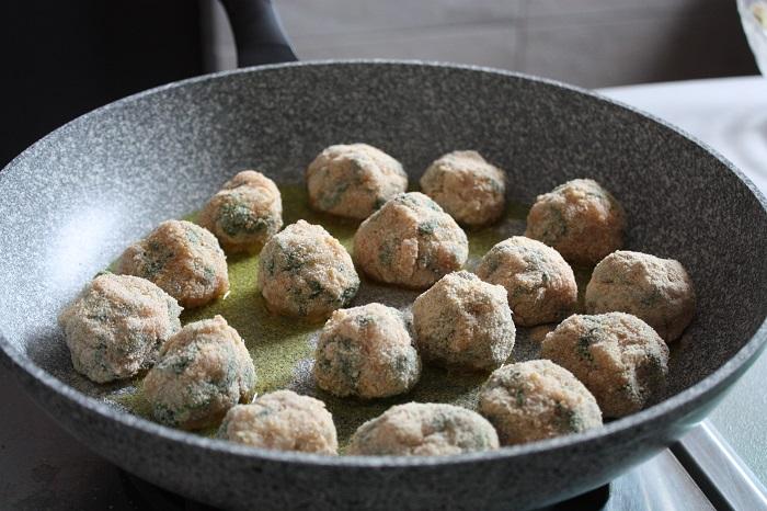 Gran Consiglio della Forchetta - polpette pollo e spinaci 07