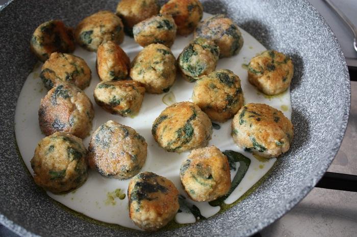 Gran Consiglio della Forchetta - polpette pollo e spinaci 10