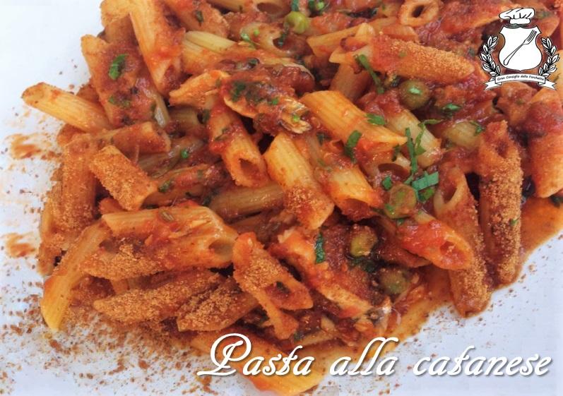 Pasta alla catanese - Ricetta