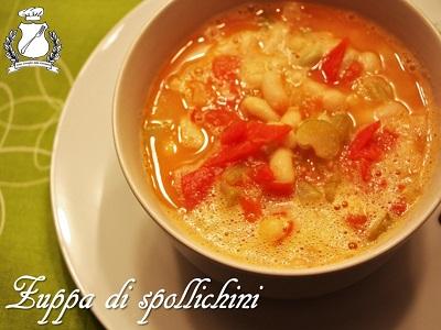 zuppa di spollichini