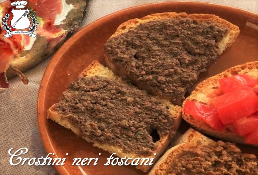Ricette tipiche della toscana - I crostini toscani