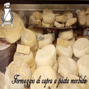 formaggio di capra a pasta morbida