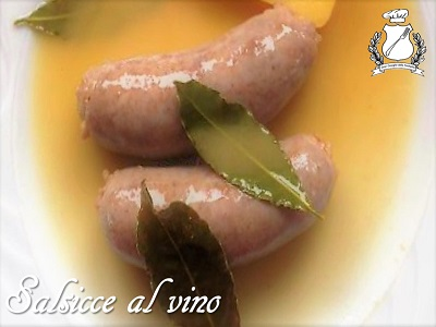 Salsicce al vino