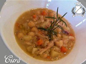 Cisra - zuppa di trippa e ceci