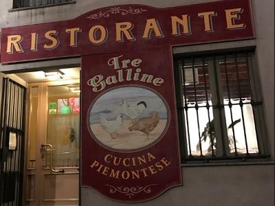 Ristorante Tre Galine Torino