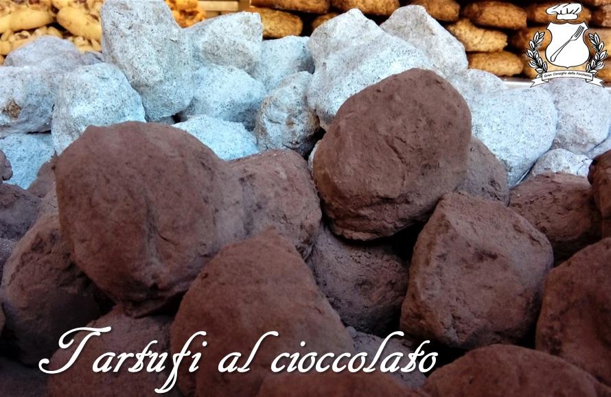 Tartufi al cioccolato - Ricetta