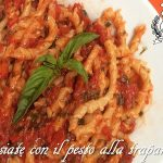 Busiate con il pesto alla trapanese