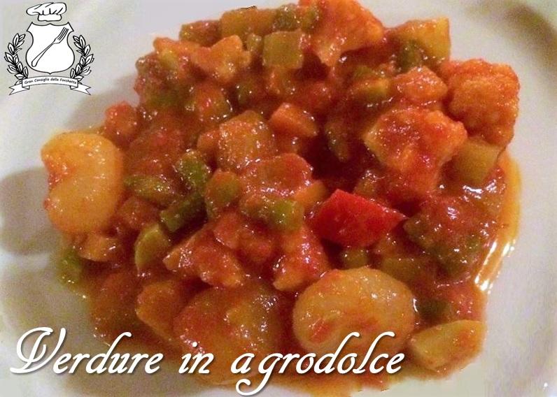 Verdure in agrodolce - Giardiniera piemontese