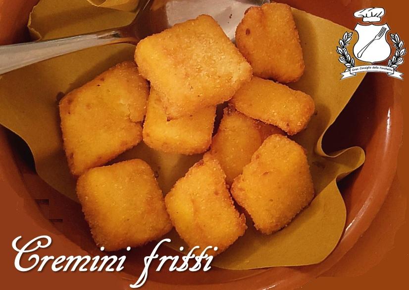 Cremini fritti - Ricetta
