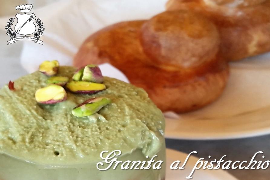 Granita al pistacchio