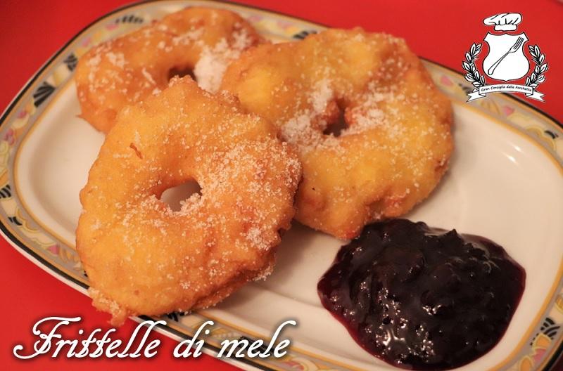 Frittelle di Mele (Apfelkiachl)