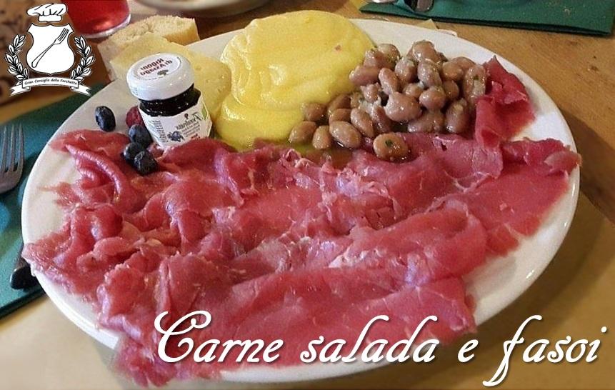 carne salada e fasoi