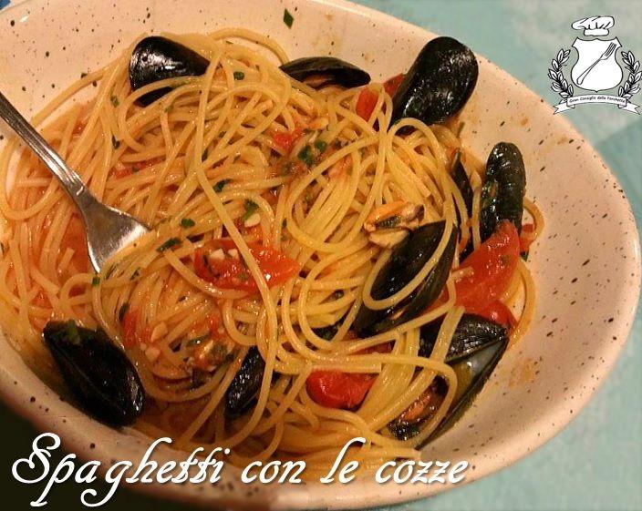 spaghetti con le cozze ricetta pugliese