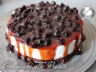 Cheesecake alle visciole