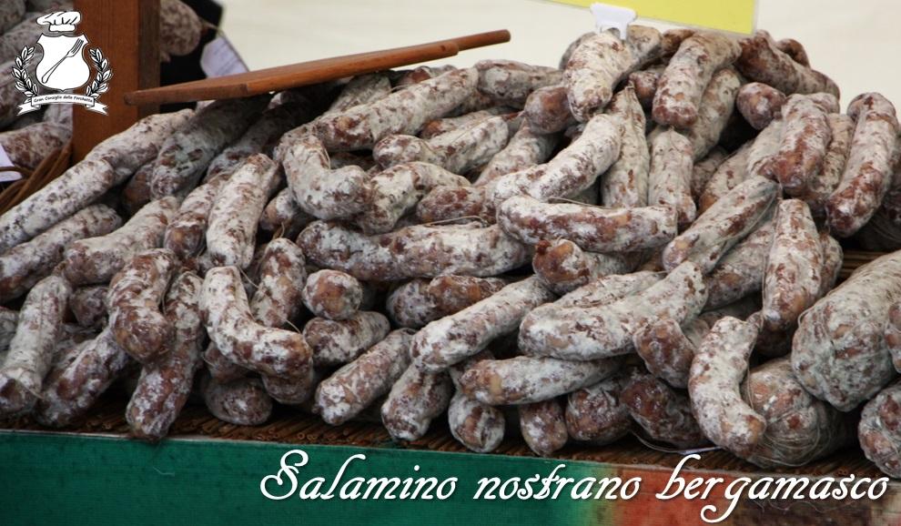 Salamino nostrano bergamasco