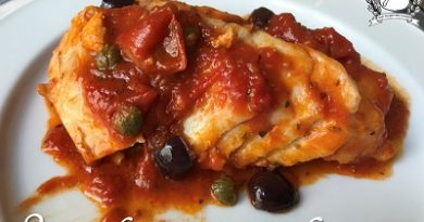 Stoccafisso in cassuola - cureniello olive e capperi