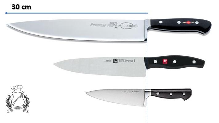 coltello trinciante - coltello da cuoco dimensioni
