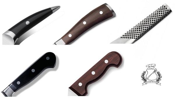 coltello trinciante - coltello da cuoco manici ergonomici