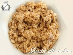 risotto all'isolana