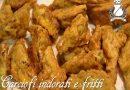 carciofi indorati e fritti