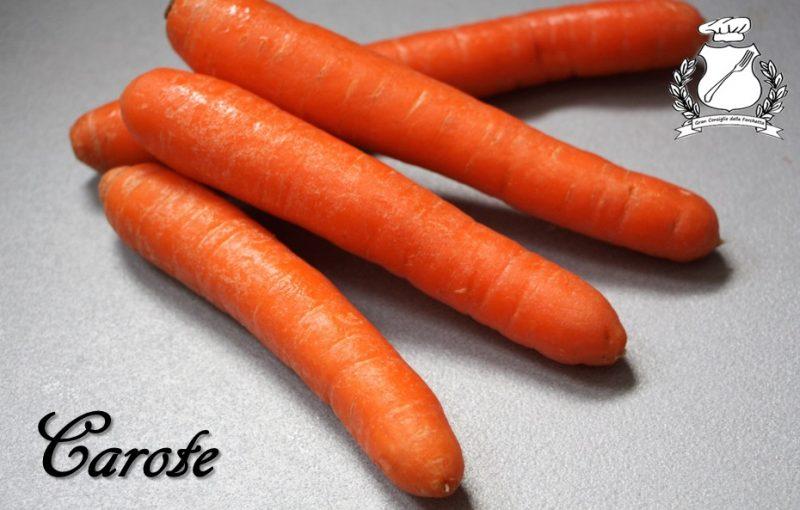 ricette con le carote