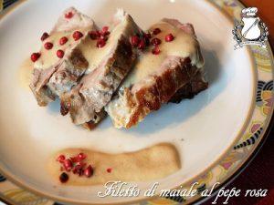 filetto di maiale al pepe rosa