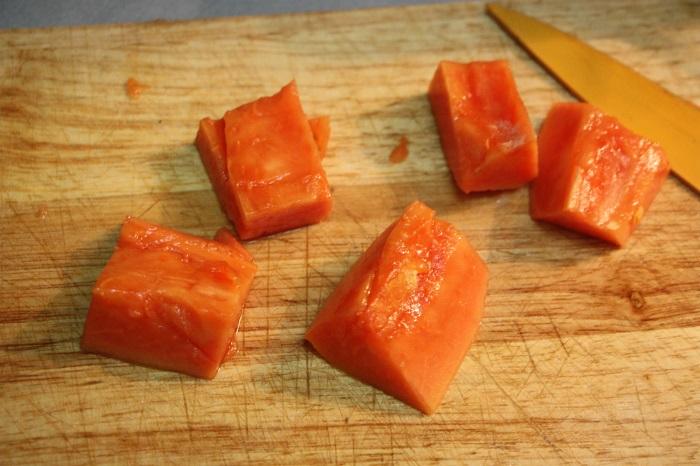 guacamole di papaya