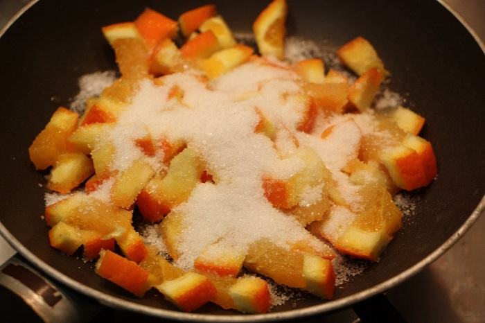plumcake arancia e nocciole